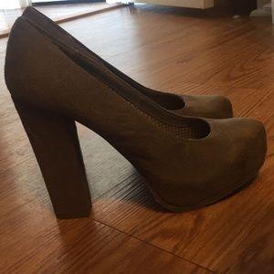 Candie's grey heels